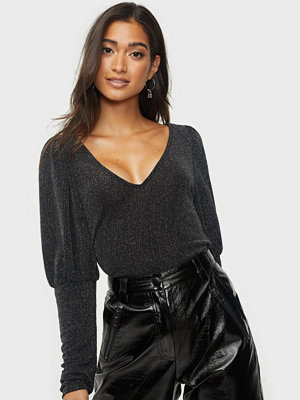 Vila VISHINNI GLITTER V-NECK L/S TOP