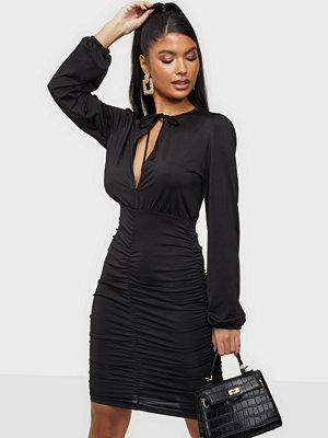 NLY Trend Keyhole Tie Slinky Dress