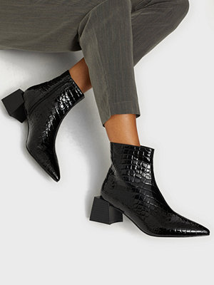 NLY Shoes Square Block Ankle Boot
