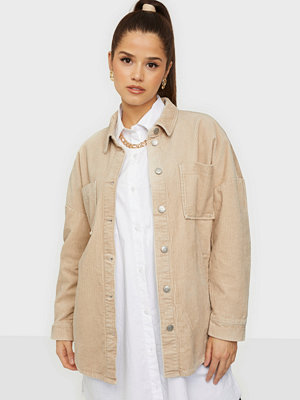 Only ONLJOAN-BITTEN L/S CORD SHACKET PNT