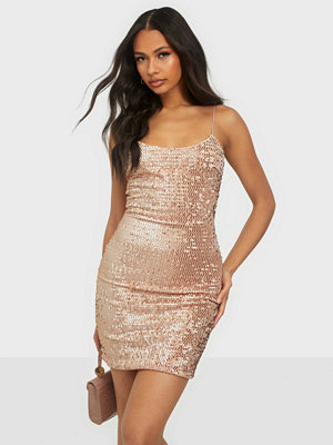 NLY One Velvet Sequin Mini Dress