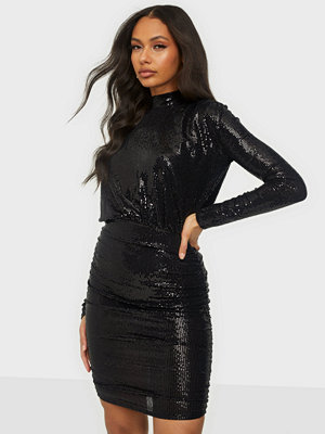 NLY One Sequin Turtle Neck Dress