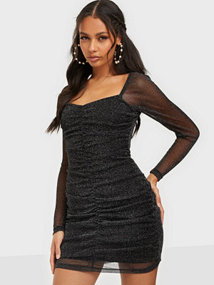 NLY Trend Sparkle Mesh Mini Dress