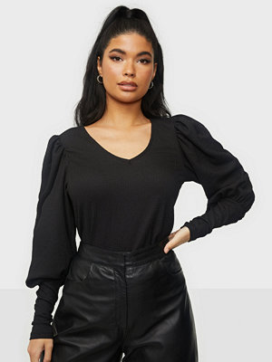 Vero Moda VMSIE L/S V-NECK PUFF TOP EXP