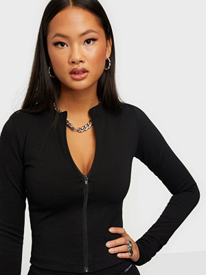Nicki Studios Long Sleeve Zip Top