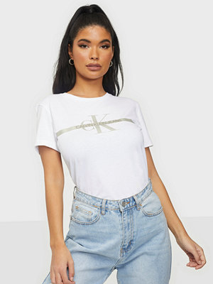 Calvin Klein Jeans GOLD MONOGRAM TEE
