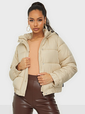 Missguided Hooded Puffer Jacket