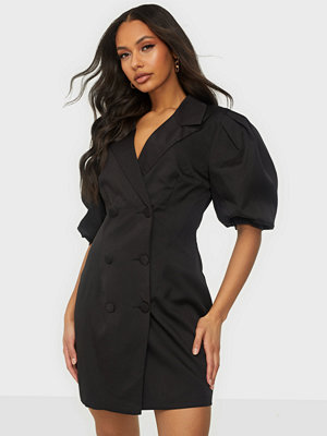 Missguided Puff Sleeve Blazer Dress