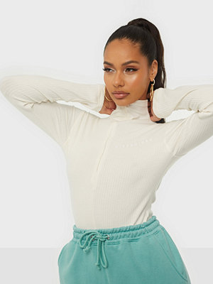 Missguided Ribbed Funnel Neck Body