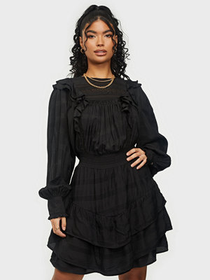 Neo Noir Mimba Crepe Dress