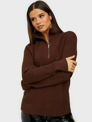 Vero Moda VMNOW LS HIGH NECK ZIP KNIT VMA