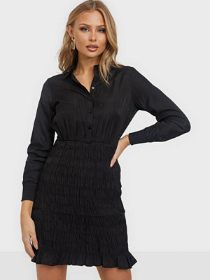 Vero Moda VMZADIA SHORT LS SMOCK DRESS FX