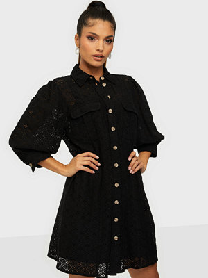 Vero Moda VMHENNY LACE 3/4 SHORT SHIRT DRESS