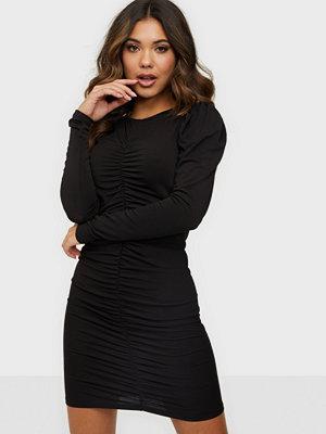Vero Moda VMMEGANE L/S ROUCHING DRESS SB2
