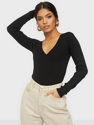 Missguided Skinny Rib Knitted Body