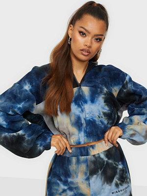 Missguided MG Tie Dye Fleece Hoodie