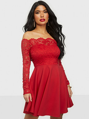 NLY One Lace Off Shoulder Skater