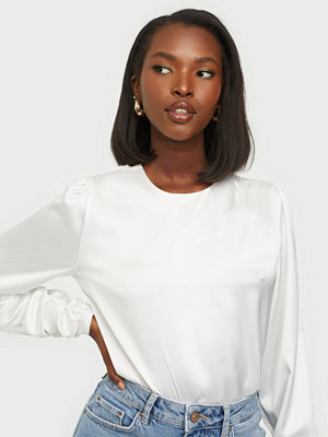 NLY Trend Ruche Sleeve Drape Blouse