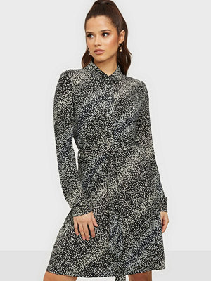 Vero Moda VMBIBI LS BLK SHIRT DRESS JRS