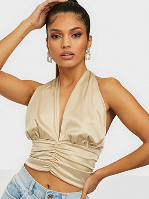 Gina Tricot Multiway Satin Top