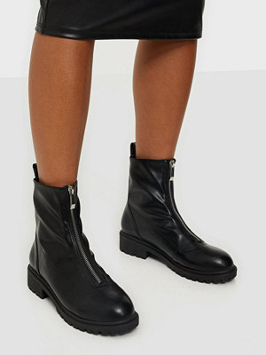 NLY Shoes Front Zip Boot