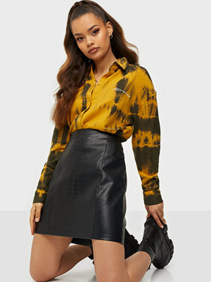 Missguided Tie Dye Loopback Shirt