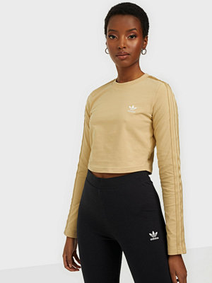 Toppar - Adidas Originals CROP LS TEE