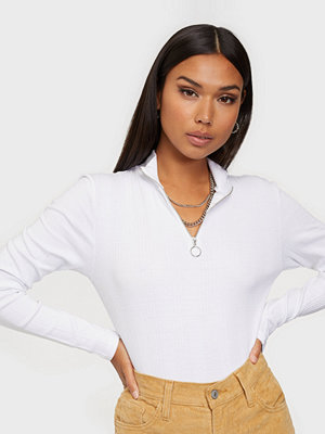 Noisy May NMSUE L/S HIGH NECK RIB TOP