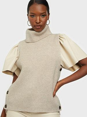 co'couture Row Button Vest