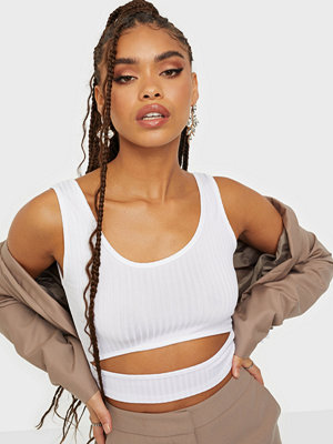 Parisian Cut Out Rib Crop Top