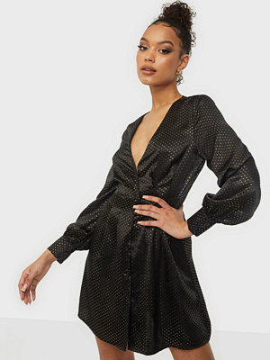 Missguided Cinched Waist A Line Mini Dress