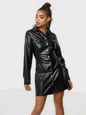 Missguided Pleated Waist Dress PU