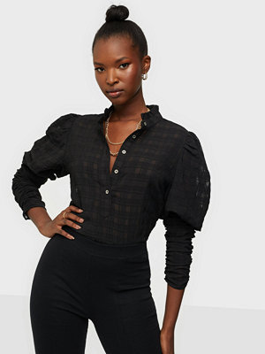 Skjortor - co'couture Rowland Puff Sleeve Shirt