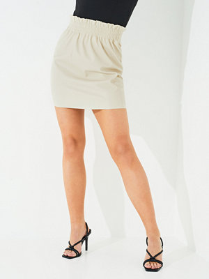 Only ONLPINZON FAUX LEATHER PB SKIRT CC