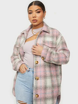 Missguided Oversized Check Shacket