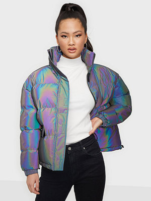 Missguided Ski Irridescent Jacket