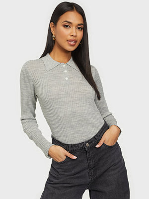 Selected Femme SLFCOSTA NEW LS KNIT POLO NECK B
