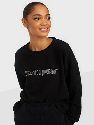 Sixth June ESSENTIAL LOGO SWEATSHIRT