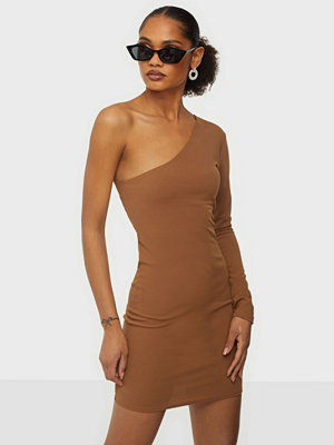 Parisian Rib Knit Cut Out Midi Dress