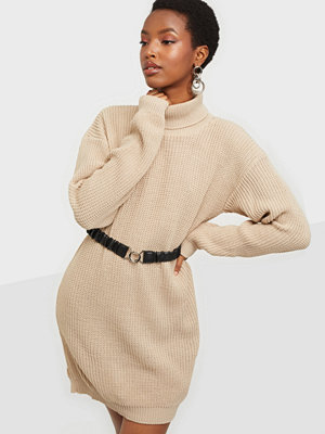 Parisian Roll Neck Knitted Dress
