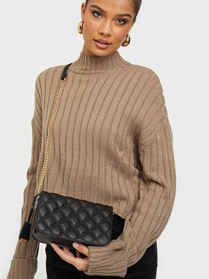 Glamorous svart väska PU Bag