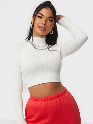 Missguided High Neck Knitted Top