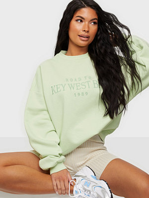 NLY Trend Oversize Expression Sweat