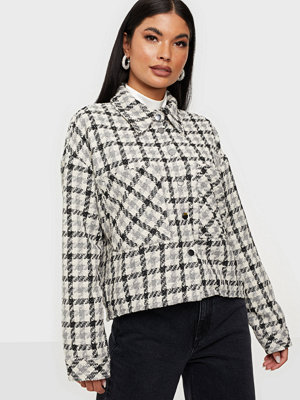 co'couture Betty Boucle Check Shirt