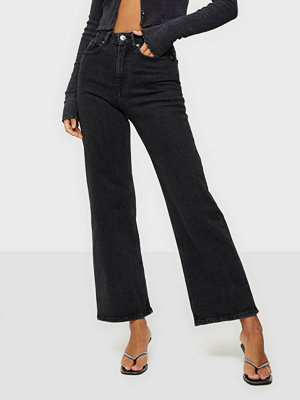 Only ONLJUICY HW BLACK WIDE LEG JEANS