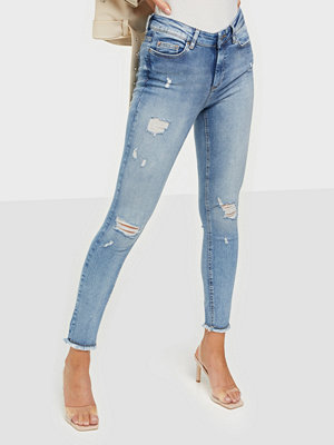 Jeans - Only ONLBLUSH LIFE MID SK RW AK DT REA21