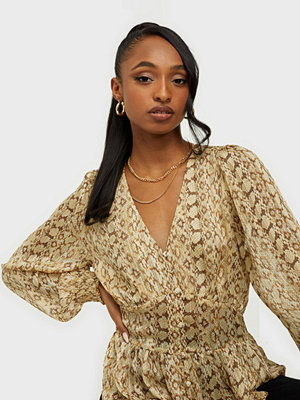 co'couture Python Blouse