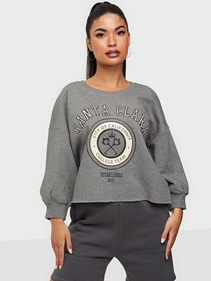 Only ONLZITA 4/5 CROPPED COLLEGE SWEAT