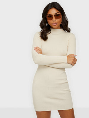 Missguided High Neck Ribbed Mini Dress