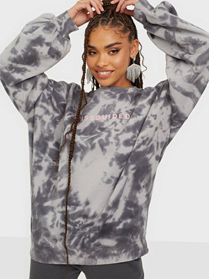 Missguided MG Branded Tie Dye Sweat